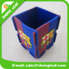PVC Pen Holder (SLF-pH010) de Rubber Promotional 3D de la alta calidad