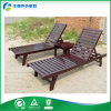 Beach ao ar livre Wooden Chair/Sun Lounger/Outdoor Bed com mesa de centro (FY-028CB)
