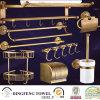 Étagère convenable 8PCS réglé de crémaillère de support d'essuie-main de salle de bains de salle de bains en bronze antique d'accessoires