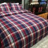 100% Cotton and Yam-Dyed & Flannelette &4 PCS Bedding Set (SH16001-9)