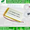 De Navulbare Batterij van het Polymeer van Li van de Verzekering 3.7V 5000mAh van de handel met PCM 955590