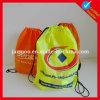 Nylon мешок Drawstring Backpack промотирования 210d