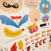 Etiqueta engomada para los juguetes de DIY
