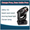 Cabeça movente do zumbido da iluminação 280W 10r da veste