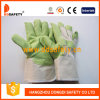 Groen pvc Garden Gloves met White Cotton Back (DGP105)