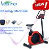 2016 DIY Energie-Eignung-Fahrrad-aufrechter stationärer Fahrrad-Selbst, der Elektrizitäts-magnetisches Fahrrad des Eignung-Fahrrad-Übungs-Fahrrad-DIY festlegt