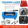 Glace/coupeur en pierre de laser de la machine de découpage de gravure de laser 80W 100W 130W pour le papier en plastique