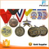 Pinstarの豪華な金属のクラフトはハンドメイドの金属メダルスポーツメダルをカスタマイズした