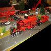 Выполненные на заказ масштабные модели тележки масштабной модели места (BM-0393)