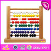 2015 Math di legno Toy per Kids, Wooden Counting Toy, Educational Toy Math Toy per Children, Wooden Abacus Frame per Baby W12A001