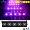 Disco Light 5PCS*10W RGB 3 in-1 Matrix Light do diodo emissor de luz