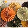 Decoración de papel colgante plegable colorida del partido de los rosetones