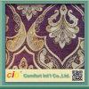 Tissu 100% de sofa de tissu de polyester avec Nice les modèles de conceptions