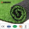 緑の美化の自然な見る人工的な芝生