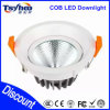 Haut aluminium LED Downlight de plafond d'ÉPI du lumen LED