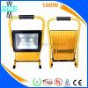 Luz de inundação recarregável impermeável do diodo emissor de luz da luz 80W 100W do trabalho do diodo emissor de luz