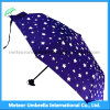 青いStar Sky UmbrellaかGift 3 Folds Discount Umbrella
