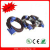 Индикация Port Male к VGA Male Converter Adapter Cable +Black + Red