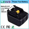 батарея инструмента Li-иона электрическая для Makita Bl1415