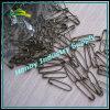 Del francés del estilo en forma de U del color del bronce de seguridad Loop Pins (P160711A)