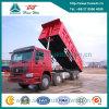 Vrachtwagen van de Stortplaats van de Kipper van Sinotruk HOWO 8X4 50t Hyva de Op zwaar werk berekende