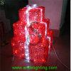 2016 de Lichten van de Nieuwe LEIDENE van het Motief van Kerstmis Lichte 3D Doos van de Gift