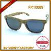 Unisex- Sunglass Houten Snglasses met Donkere Lens (FX15089)