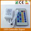 I tasti di IR 24 scelgono il regolatore di colore LED per gli indicatori luminosi di striscia del LED