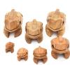 Rana de madera de los juguetes de los niños