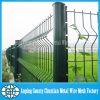 Euro recinto di filo metallico PVC-Rivestito nel prezzo di fabbrica