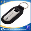 Custom Leather and Stainless Steel Printing Keychain (Ele-K054)