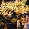 다채로운 LED 꽃 나무 빛 크리스마스