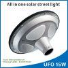 Lumière solaire de route de lampe de jardin d'UFO 15W DEL d'approvisionnement de constructeur