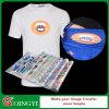 Стикер печатание передачи тепла цены по прейскуранту завода-изготовителя Qingyi для тенниски