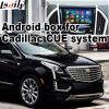 Android поверхность стыка системы навигации GPS видео- для Cadillac Xt5