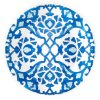 Het Blauw en het Wit van het Vaatwerk van de Plaat van het Voorgerecht van de melamine