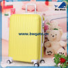 Bw1-171 ABS+PCのトロリー箱旅行荷物のスーツケースはセットした(黄色)