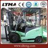 Pequeña carretilla elevadora eléctrica del carro 3t de China con la batería