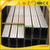 Fornecedores de alumínio da extrusão que fornecem o perfil do alumínio da parede de vidro de Customzied