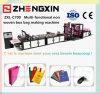 Sac non tissé stéréo de promotion de tissu de fournisseur faisant la machine (ZXL-C700)