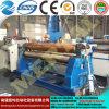 Máquina de rolamento simétrica hidráulica da placa de três rolos Mclw11nc-20*2000, máquina de dobra