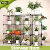 Étagère de jardin de crémaillère en métal de Shelfs de cube en mémoire de DIY/étagère de balcon