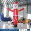 Angepasst, Weihnachtssankt-Himmel-Tänzer-aufblasbaren Luft-Tanz bekanntmachend