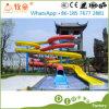 熱い販売の水公園のいかだの販売のためのスライドによって使用されるガラス繊維水スライド