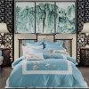 Telar jacquar lujoso del algodón del OEM para el apartamento del hotel
