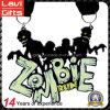 2017 Nuevo diseño de encargo del zombi medalla metal