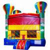 Castelo de salto da casa inflável quente grande do salto do balão com ventilador do Ce