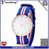 Yxl-223 매력적인 다이아몬드 숙녀 시계 나일론 북대서양 조약기구 결박 형식 손목 시계 여자 스포츠 우연한 숙녀 시계 도매