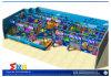 Спортивная площадка океана игры рационализаторства опирающийся на определённую тему крытая для детей