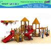Atmosfera clássica de madeira ao ar livre Equipamentos de Playground para crianças (HD-5701)